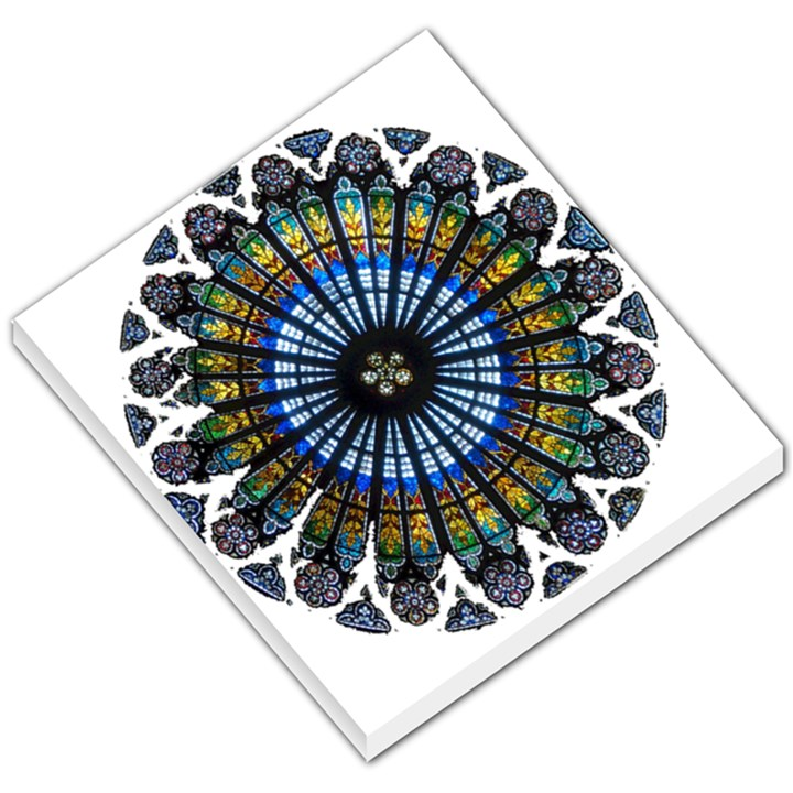 Rose Window Strasbourg Cathedral Small Memo Pads
