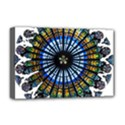Rose Window Strasbourg Cathedral Deluxe Canvas 18  x 12   View1