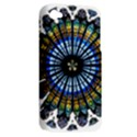 Rose Window Strasbourg Cathedral Apple iPhone 4/4S Hardshell Case (PC+Silicone) View2