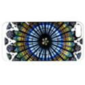 Rose Window Strasbourg Cathedral Apple iPhone 5 Hardshell Case with Stand View1