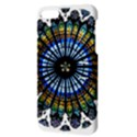 Rose Window Strasbourg Cathedral Apple iPhone 5 Hardshell Case with Stand View3