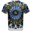 Rose Window Strasbourg Cathedral Men s Cotton Tee View1