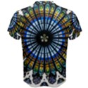 Rose Window Strasbourg Cathedral Men s Cotton Tee View2