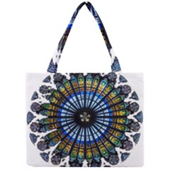 Rose Window Strasbourg Cathedral Mini Tote Bag