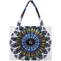 Rose Window Strasbourg Cathedral Mini Tote Bag View1