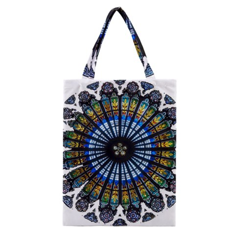 Rose Window Strasbourg Cathedral Classic Tote Bag