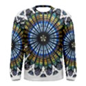Rose Window Strasbourg Cathedral Men s Long Sleeve Tee View1
