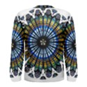 Rose Window Strasbourg Cathedral Men s Long Sleeve Tee View2