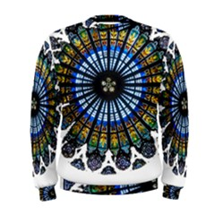 Rose Window Strasbourg Cathedral Men s Sweatshirt