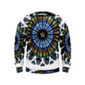Rose Window Strasbourg Cathedral Kids  Sweatshirt View1