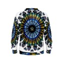 Rose Window Strasbourg Cathedral Kids  Sweatshirt View2