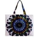 Rose Window Strasbourg Cathedral Zipper Mini Tote Bag View2