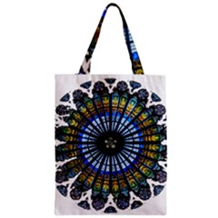 Rose Window Strasbourg Cathedral Zipper Classic Tote Bag
