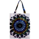 Rose Window Strasbourg Cathedral Zipper Classic Tote Bag View1