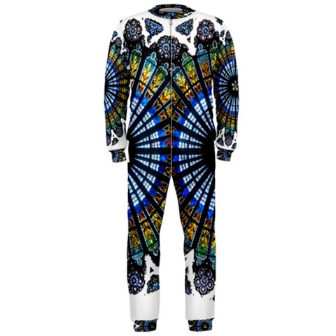 Rose Window Strasbourg Cathedral OnePiece Jumpsuit (Men)