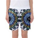 Rose Window Strasbourg Cathedral Women s Basketball Shorts View1
