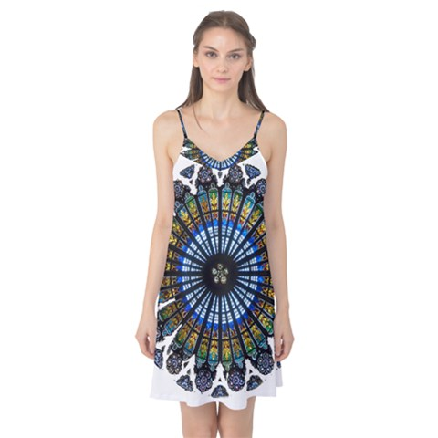 Rose Window Strasbourg Cathedral Camis Nightgown