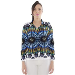 Rose Window Strasbourg Cathedral Wind Breaker (Women)