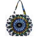 Rose Window Strasbourg Cathedral Large Tote Bag View1