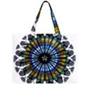 Rose Window Strasbourg Cathedral Large Tote Bag View2