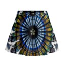 Rose Window Strasbourg Cathedral Mini Flare Skirt View1