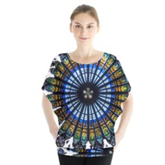 Rose Window Strasbourg Cathedral Blouse