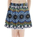 Rose Window Strasbourg Cathedral Pleated Mini Skirt View1