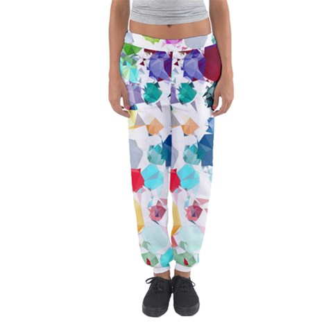Colorful Diamonds Dream Women s Jogger Sweatpants