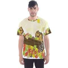 Squirrel  Men s Sport Mesh Tee