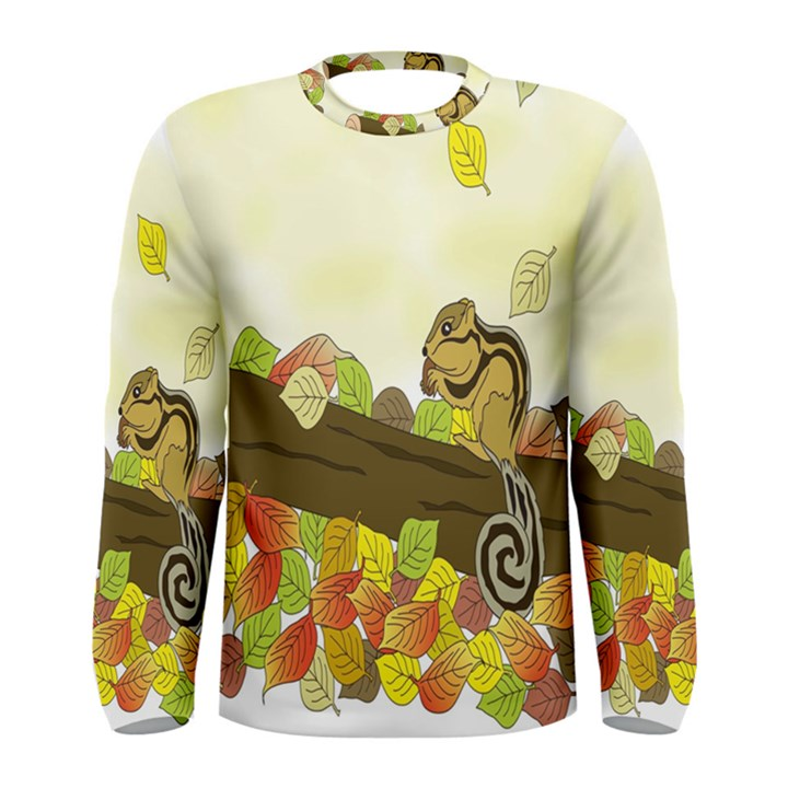 Squirrel  Men s Long Sleeve Tee