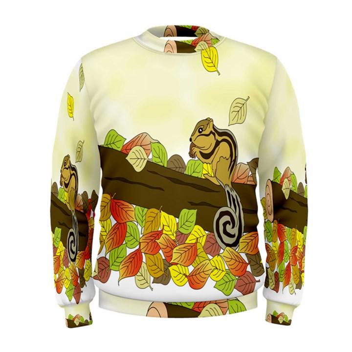 Squirrel  Men s Sweatshirt