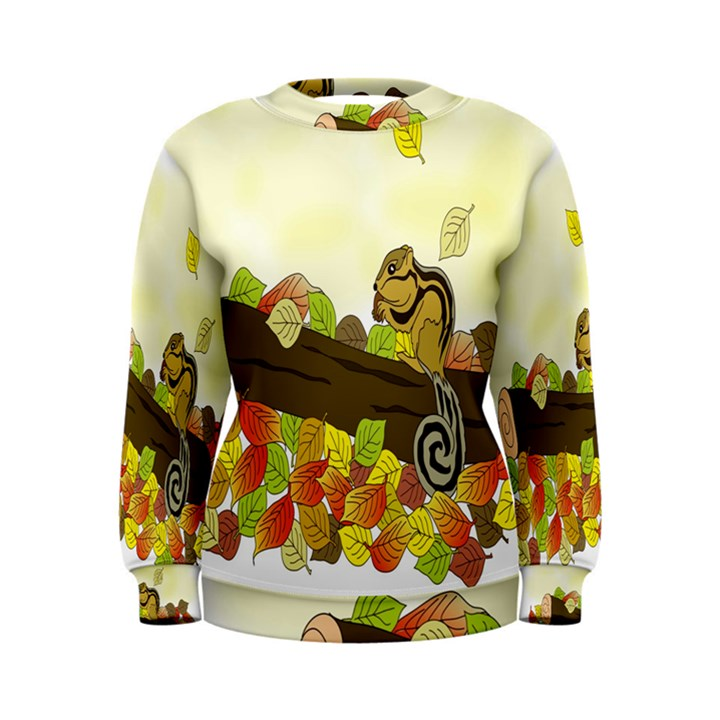 Squirrel  Women s Sweatshirt