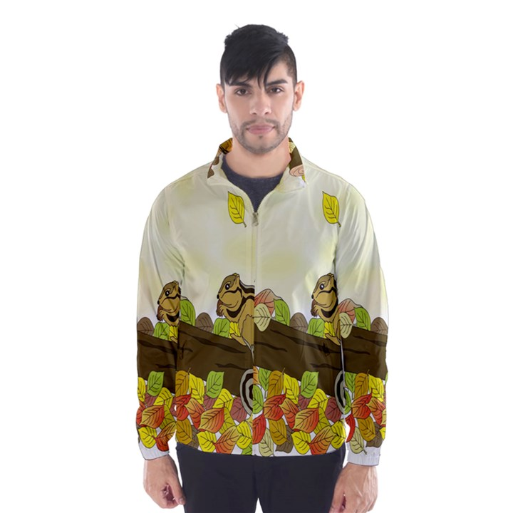 Squirrel  Wind Breaker (Men)