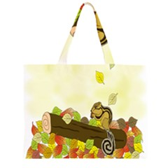 Squirrel  Large Tote Bag