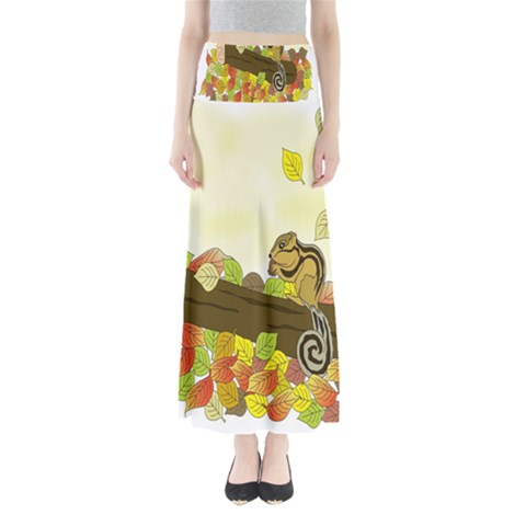 Squirrel  Maxi Skirts