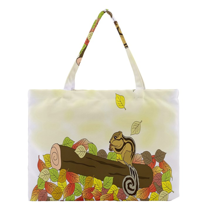 Squirrel  Medium Tote Bag