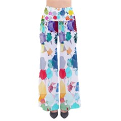 Colorful Diamonds Dream Women s Chic Palazzo Pants