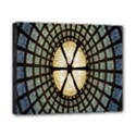 Stained Glass Colorful Glass Canvas 10  x 8  View1