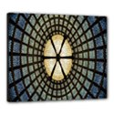 Stained Glass Colorful Glass Canvas 24  x 20  View1
