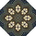 Stained Glass Colorful Glass Folding Umbrellas View1