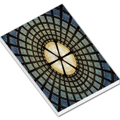 Stained Glass Colorful Glass Large Memo Pads