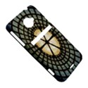 Stained Glass Colorful Glass HTC Evo 4G LTE Hardshell Case  View5