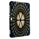 Stained Glass Colorful Glass Samsung Galaxy Tab 8.9  P7300 Hardshell Case  View2