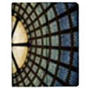 Stained Glass Colorful Glass Apple iPad 2 Flip Case View1