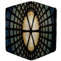 Stained Glass Colorful Glass Apple iPad 2 Flip Case View4