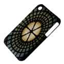 Stained Glass Colorful Glass Apple iPhone 3G/3GS Hardshell Case (PC+Silicone) View4