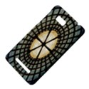 Stained Glass Colorful Glass HTC One SU T528W Hardshell Case View4