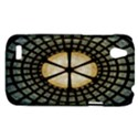 Stained Glass Colorful Glass HTC Desire V (T328W) Hardshell Case View1