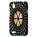 Stained Glass Colorful Glass HTC Desire V (T328W) Hardshell Case View3