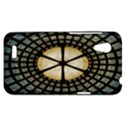Stained Glass Colorful Glass HTC Desire VT (T328T) Hardshell Case View1